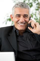 Man calling on phone