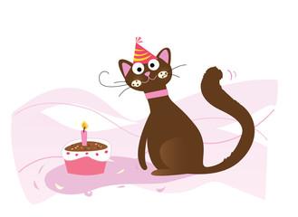 Happy birthday, cat!