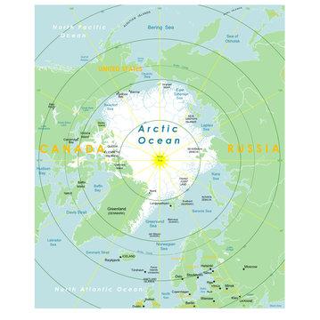 North pole.