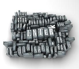 letter enter
