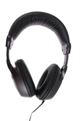 .Unbranded headphones on a white background