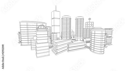 Dessin 3d Macro Perpsepective Architecture Photo Libre