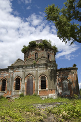 Ruins of old church
