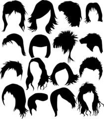 Hair - dress  (women and man)