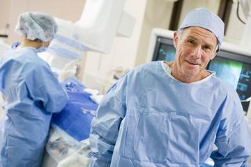 Keuken foto achterwand Bakkerij Surgeons In The Operating Room