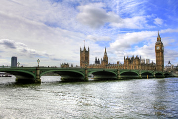 Fotomurales - London - Houses of Parliament and Big Ben