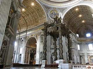 Canopy in Saint Peter Curch - Rome - Vatican