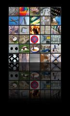 Fotocollage Objekte