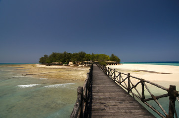 Changuu island - paradise island near Zanzibar