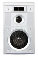 sound speaker system isolated on white