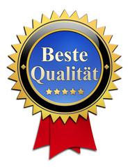 Beste Qualität button