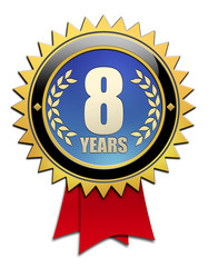 Button 8 years