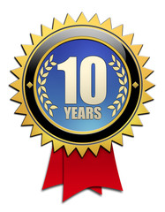 Button 10 years
