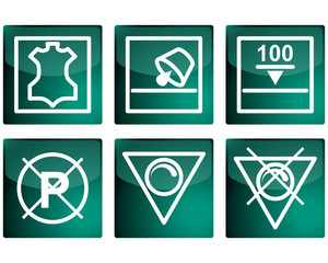 Set of vector pictograms