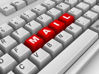 Keyboard. Mail