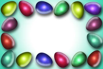 Frame Funny Eggs