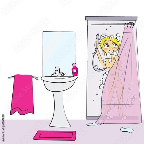 fille sur fille dans la douche mignon japonais sexe tube