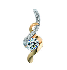 isolated jewelry at white background