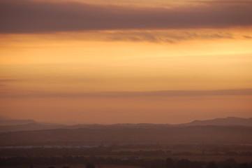 Stirling in dawnlight