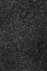 Freshly paved asphalt