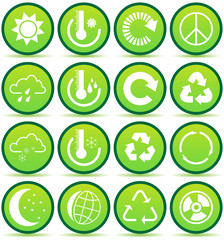 Ecology and Recycling symbols