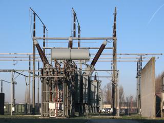 High voltage power plant detail