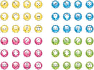 Medizin-Icons