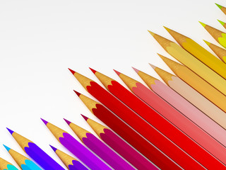 raibow pencil background
