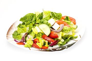close up of salad
