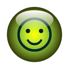 Smily - Lächeln - Button - JPG - Bild