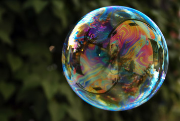 Soap Rainbow Bubble