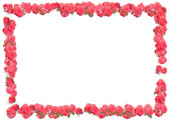 rahmen rosen frame roses
