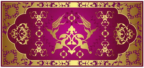 Ottoman gold design