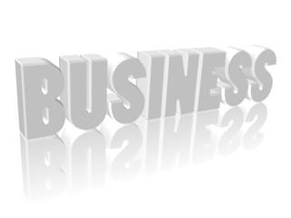 """""""Business"""" (3D avec reflet)"""