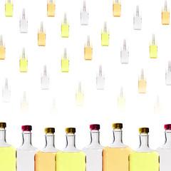 Alcohol Bottles Background
