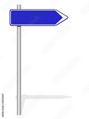 panneau de signalisation bleu photo libre de droits sur la banque d 39 images image. Black Bedroom Furniture Sets. Home Design Ideas