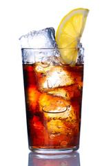 Glass with soda