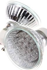 Led light (bulb)  isolated on white background