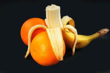 Banana & Orange