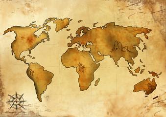 Weltschatzkarte 1