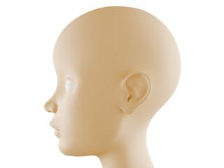 Neutral head profile