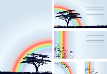 rainbow - vector set