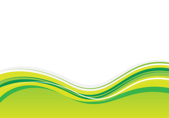 green/yellow background design