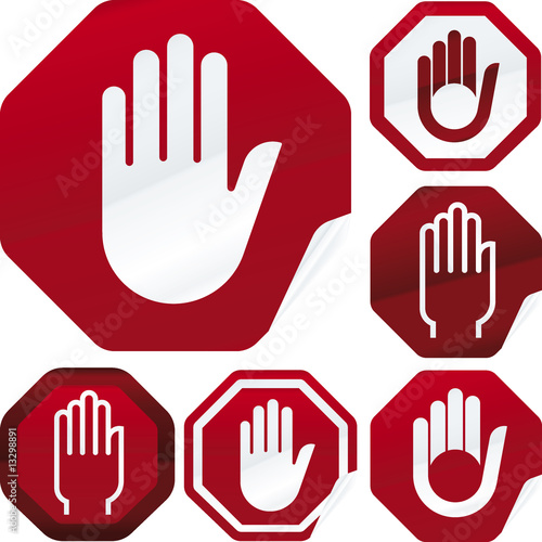 Stop Hand Stock Image And Royalty Free Vector Files On Fotolia