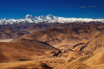 Wall Mural - Tibetan landscape