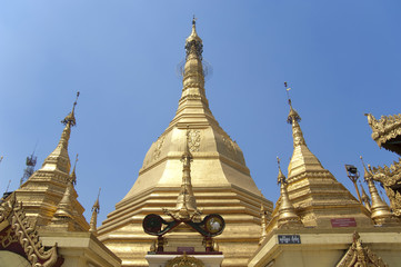 Myanmar Yangon - Sule Pagoda