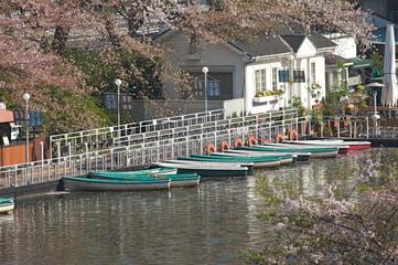皇居外濠のボート乗場