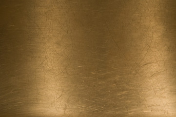 Brass metal background