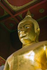 Viharn Phra Mongkol Bopitah in Ayutthaya, Thailand.