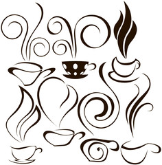 cooffee cup icons 2